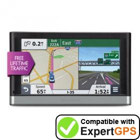 Download your Garmin nüvi 2577LT waypoints and tracklogs and create maps with ExpertGPS