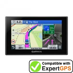 Download your Garmin nüvi 2589LM waypoints and tracklogs and create maps with ExpertGPS