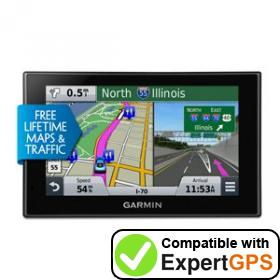 Download your Garmin nüvi 2589LMT waypoints and tracklogs and create maps with ExpertGPS