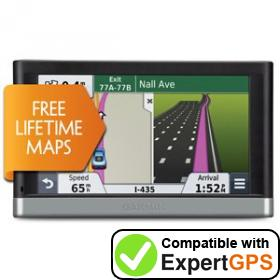 Download your Garmin nüvi 2597LM waypoints and tracklogs and create maps with ExpertGPS