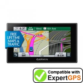 Download your Garmin nüvi 2689LMT waypoints and tracklogs and create maps with ExpertGPS