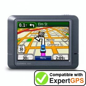 Download your Garmin nüvi 275T waypoints and tracklogs and create maps with ExpertGPS