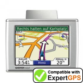 Download your Garmin nüvi 300T waypoints and tracklogs and create maps with ExpertGPS