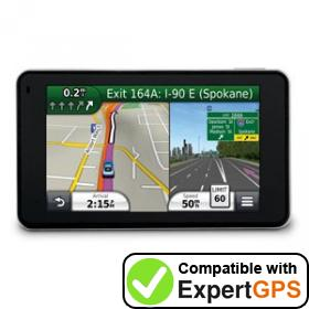 Download your Garmin nüvi 3450 waypoints and tracklogs and create maps with ExpertGPS