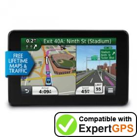 Download your Garmin nüvi 3590LMT waypoints and tracklogs and create maps with ExpertGPS