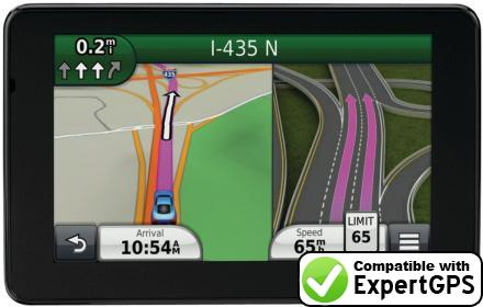Download your Garmin nüvi 3598LMT waypoints and tracklogs and create maps with ExpertGPS