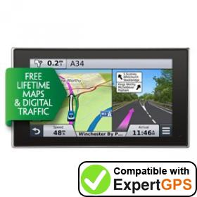 Download your Garmin nüvi 3598LMT-D waypoints and tracklogs and create maps with ExpertGPS