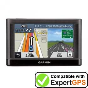 Download your Garmin nüvi 42LM waypoints and tracklogs and create maps with ExpertGPS