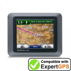 Download your Garmin nüvi 500 waypoints and tracklogs and create maps with ExpertGPS
