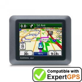 Download your Garmin nüvi 550 waypoints and tracklogs and create maps with ExpertGPS