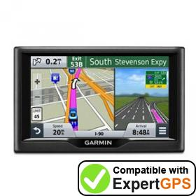 Download your Garmin nüvi 58 waypoints and tracklogs and create maps with ExpertGPS