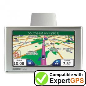 Download your Garmin nüvi 610T waypoints and tracklogs and create maps with ExpertGPS