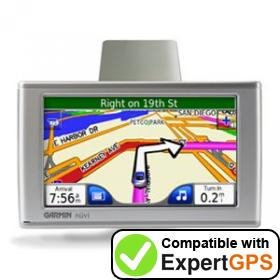 Download your Garmin nüvi 650 waypoints and tracklogs and create maps with ExpertGPS