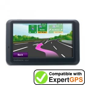 Download your Garmin nüvi 755T waypoints and tracklogs and create maps with ExpertGPS