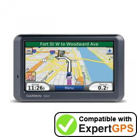 Download your Garmin nüvi 760T waypoints and tracklogs and create maps with ExpertGPS