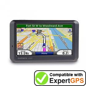 Download your Garmin nüvi 770 waypoints and tracklogs and create maps with ExpertGPS