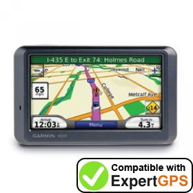Download your Garmin nüvi 780 waypoints and tracklogs and create maps with ExpertGPS