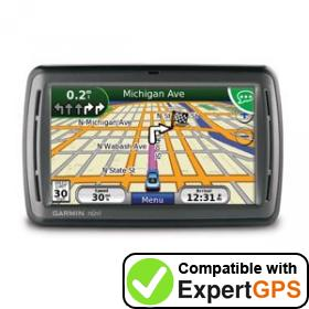 Download your Garmin nüvi 855 waypoints and tracklogs and create maps with ExpertGPS