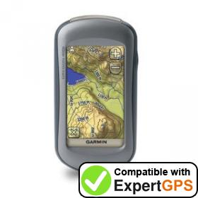 Download your Garmin Oregon 400t waypoints and tracklogs and create maps with ExpertGPS