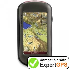 Download your Garmin Oregon 550t waypoints and tracklogs and create maps with ExpertGPS