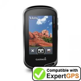 Download your Garmin Oregon 750 waypoints and tracklogs and create maps with ExpertGPS