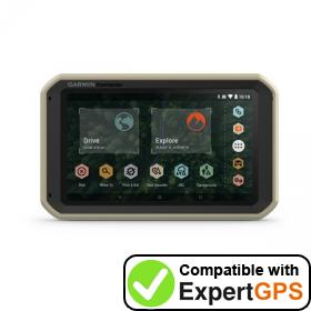 Download your Garmin Overlander waypoints and tracklogs and create maps with ExpertGPS