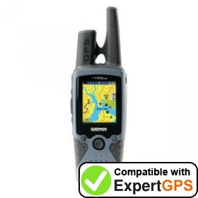 Download your Garmin Rino 520 waypoints and tracklogs and create maps with ExpertGPS