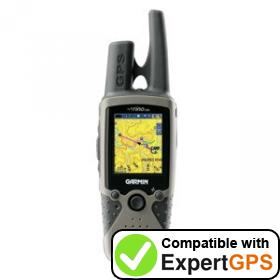Download your Garmin Rino 530 waypoints and tracklogs and create maps with ExpertGPS