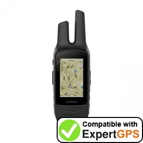 Download your Garmin Rino 755t waypoints and tracklogs and create maps with ExpertGPS