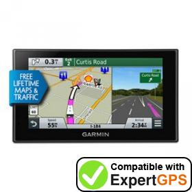 Download your Garmin RV 660LMT waypoints and tracklogs and create maps with ExpertGPS