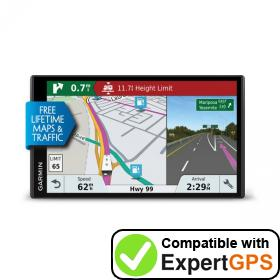 Download your Garmin RV 770 LMT-S waypoints and tracklogs and create maps with ExpertGPS