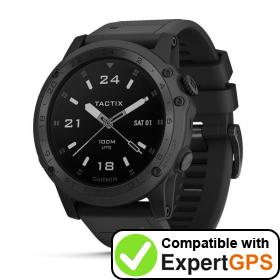 Download your Garmin tactix Charlie waypoints and tracklogs and create maps with ExpertGPS