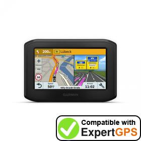 Download your Garmin zūmo 346 LMT-S waypoints and tracklogs and create maps with ExpertGPS