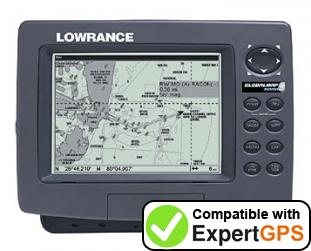 Download your Lowrance GlobalMap 3000MT waypoints and tracklogs and create maps with ExpertGPS