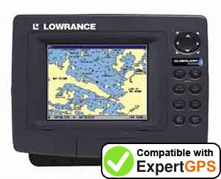 Download your Lowrance GlobalMap 5000C waypoints and tracklogs and create maps with ExpertGPS