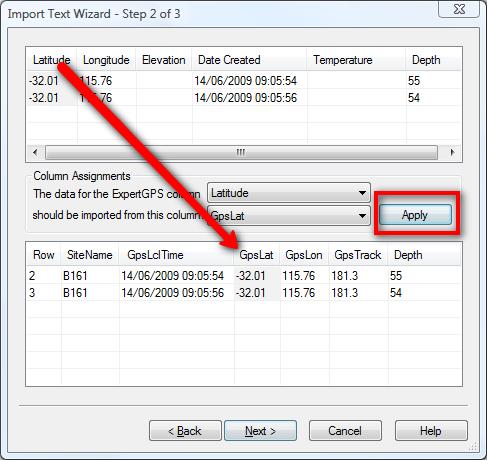 Converting Marine Chartplotter CSV Data to GPX