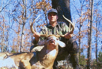 Kirk Kitchens with the buck of his dreams