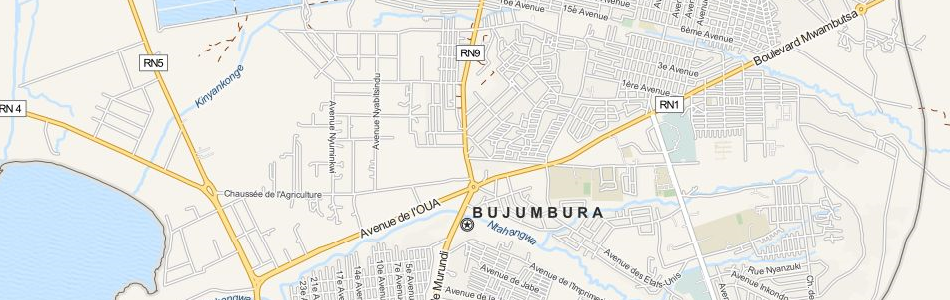 Download Burundi Map Software For Your GPS - bujumbura map