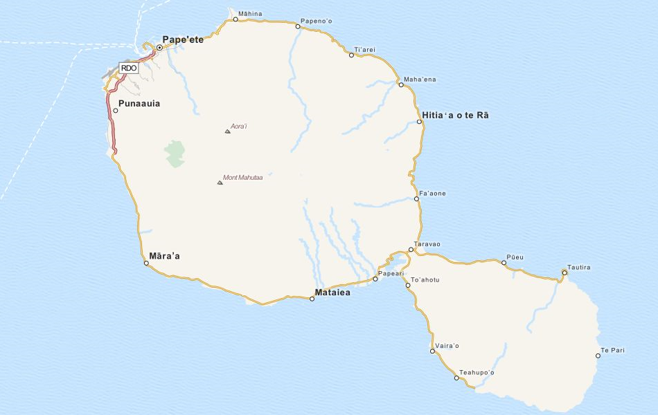 Download French Polynesia Map Software For Your GPS - French polynesia map