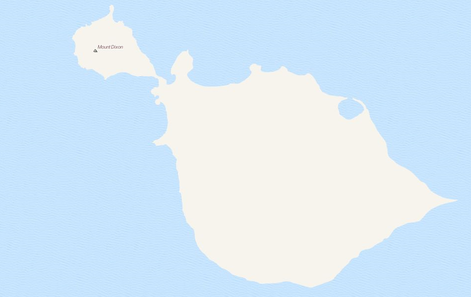 Map of Heard Island and McDonald Islands in ExpertGPS GPS Mapping Software