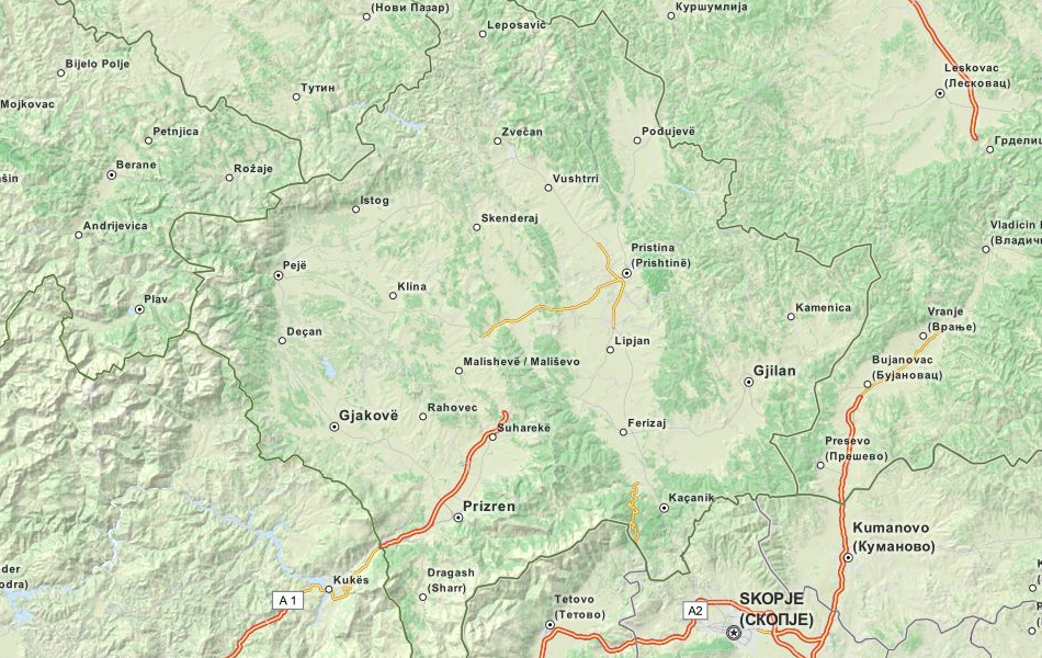 Download Kosovo Map Software for Your GPS