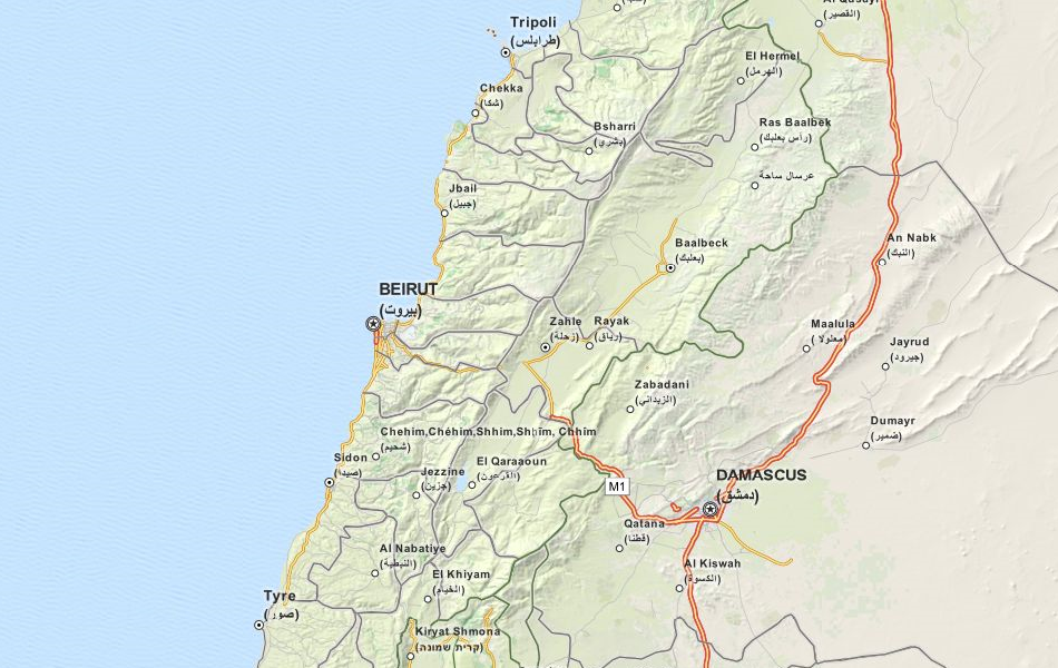 Download Lebanon Map Software for Your GPS
