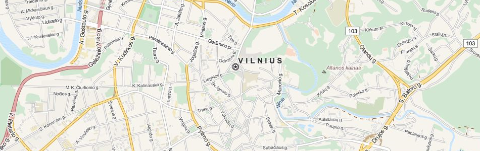 Download Lithuania Map Software for Your GPS