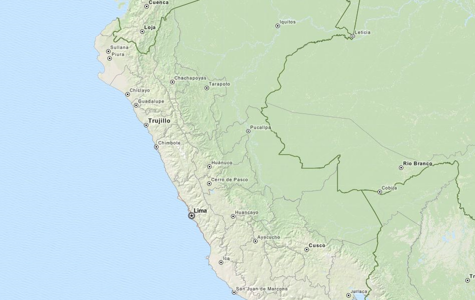Download Peru Map Software for Your GPS