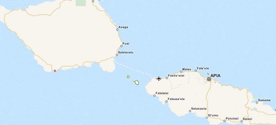 Download Samoa Map Software for Your GPS