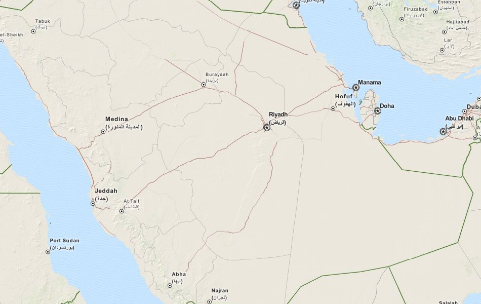 Download Saudi Arabia Map Software for Your GPS