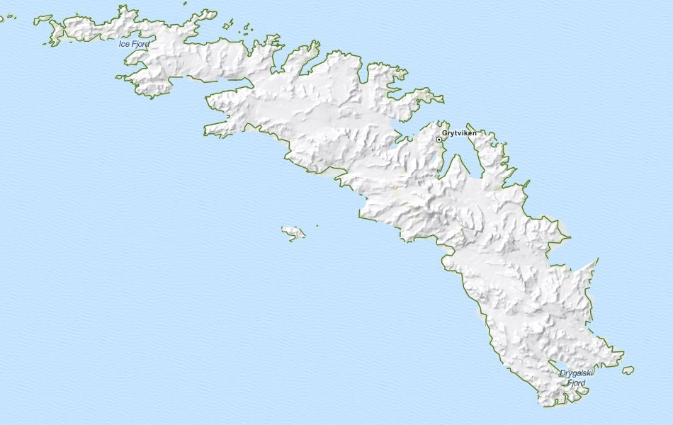 Download South Georgia and the South Sandwich Isl Map ...
