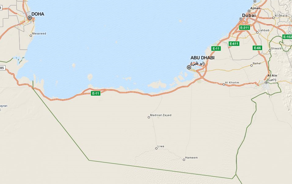 Download United Arab Emirates Map Software for Your GPS